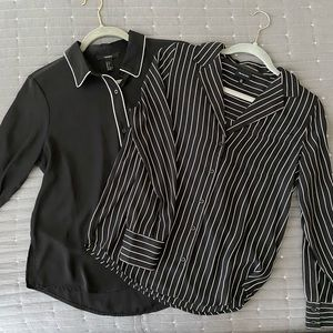 Black and White Blouse Bundle!!